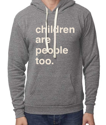 Get your own hoodie.