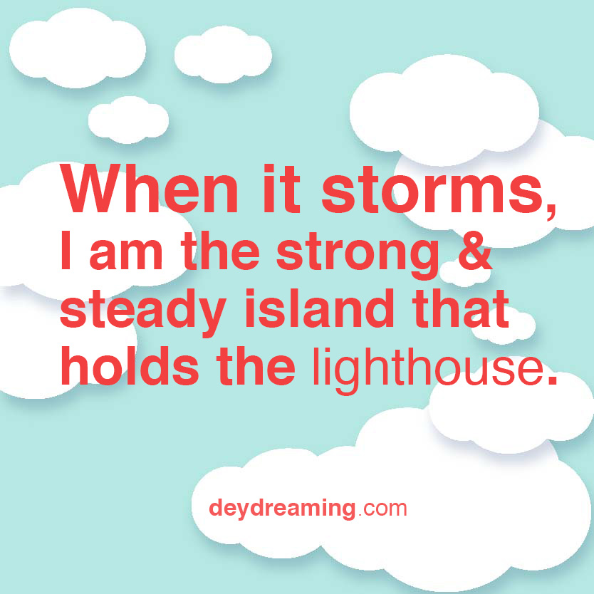 When it storms