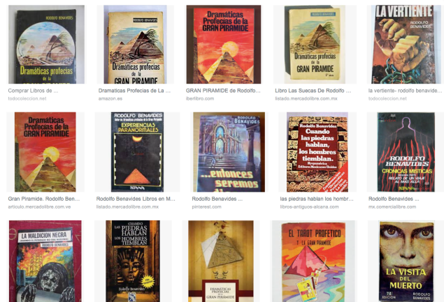 rodolfo benavides books screenshoot on google images