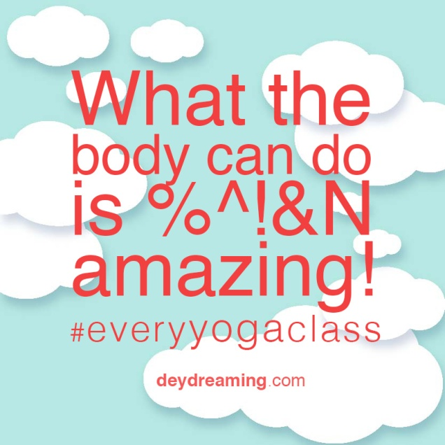 What the body can do is beeping amazing everyyogaclass