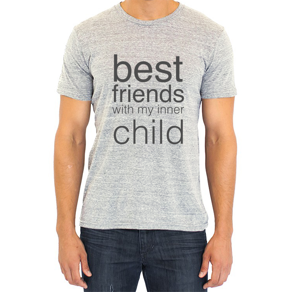 best friends with my inner child t-shirt