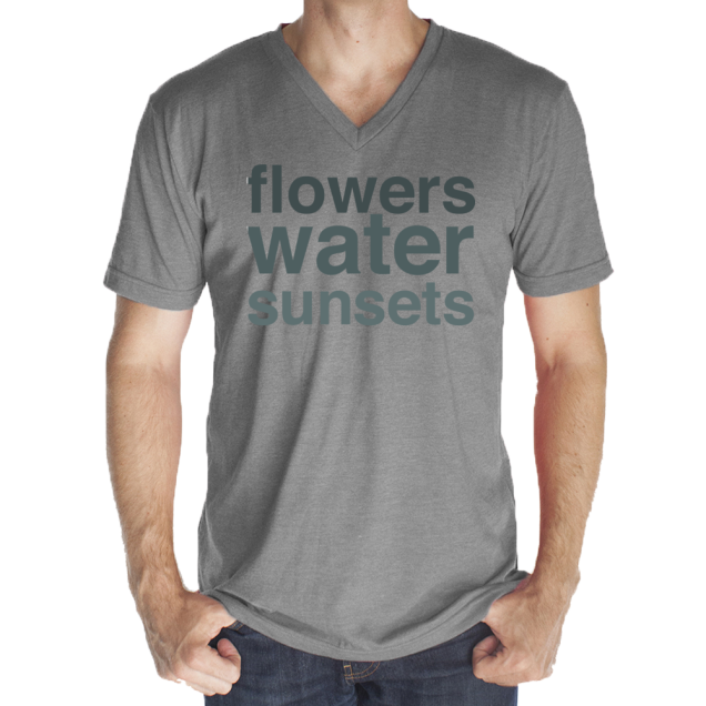 Flowers_Water_Sunsets-14x18--royal-apparel--deydreaming tshirt