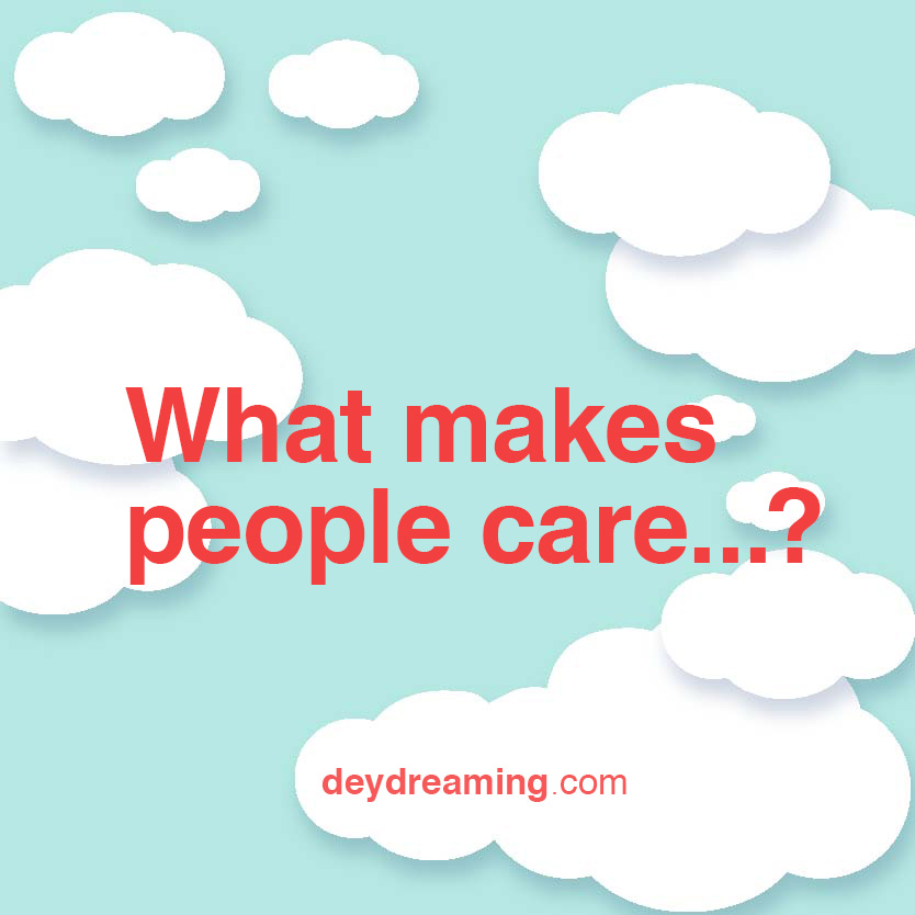 what makes people care