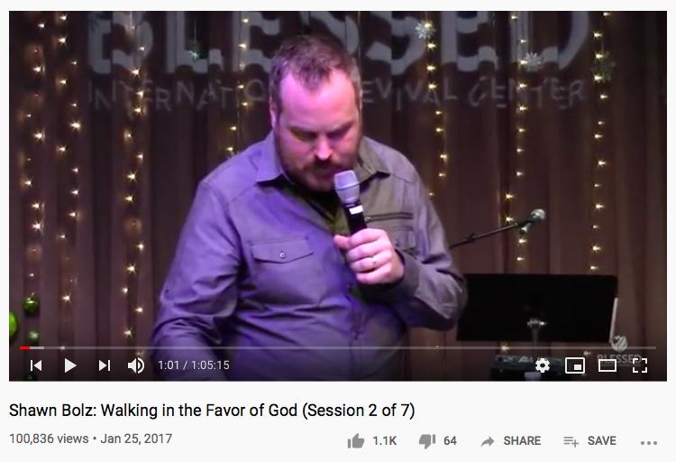 top three Christian videos on YouTube
