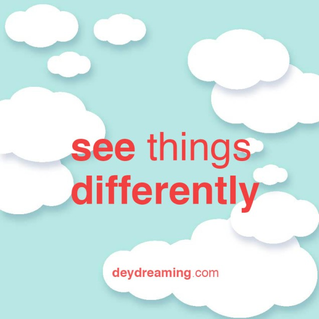 deydreaming cloud thought