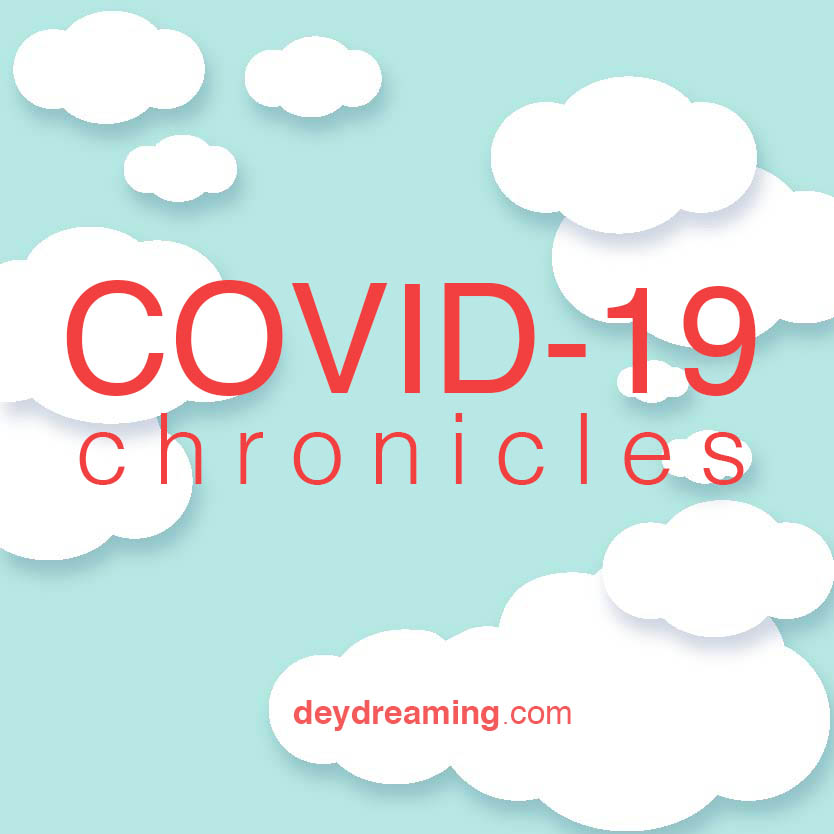 deydreaming coronavirus chronicles cover cloud thought